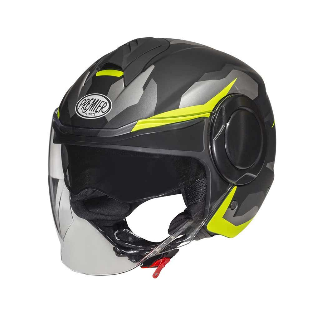 CASCO PREMIER Cool Camo Yellow Fluo