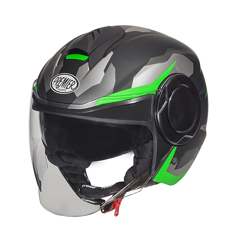 CASCO PREMIER Cool Camo Green Fluo